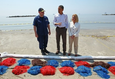 President Obama visits BP Gulf Disaster Zone