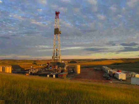 Bakken Shale oil and gas development