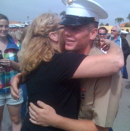Cody Bates is a Marine
