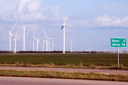 Grassroots opposition to wind power transmission line in Texas