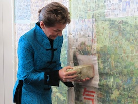 UNFCCC Executive Secretary Christiana Figueres Seals Great Climate Wall