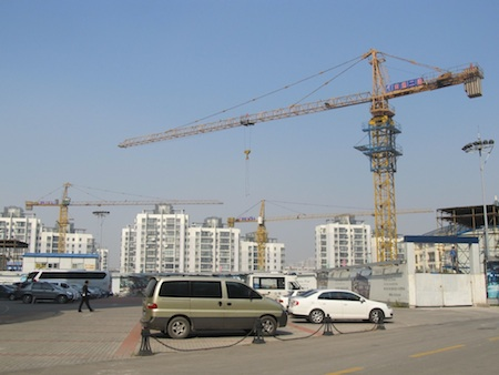 Tianjin construction site