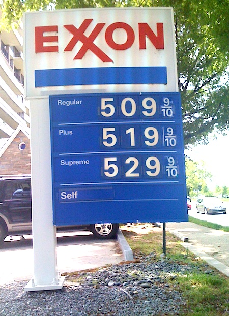 gas-price $5 in Washington