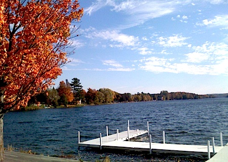 Central Lake, Michigan Fall 2011