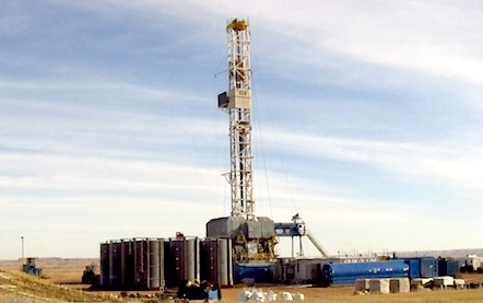 North Dakota Bakken drill-rig1