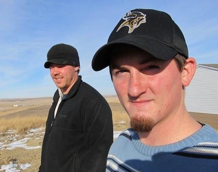 Jon Moore-and-Rick Harding North Bakota Bakken 2011