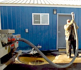 North Dakota water depoit ron-ivory-with-pipe
