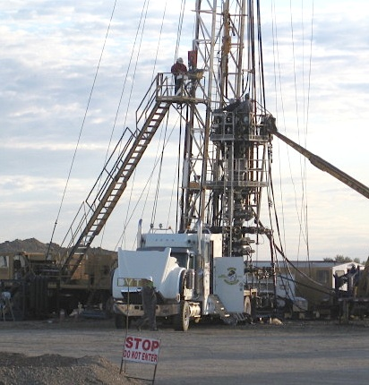 North Dakota drilling rig