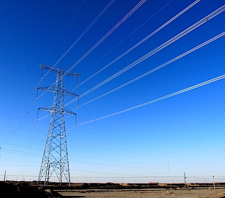 gansu-power-line