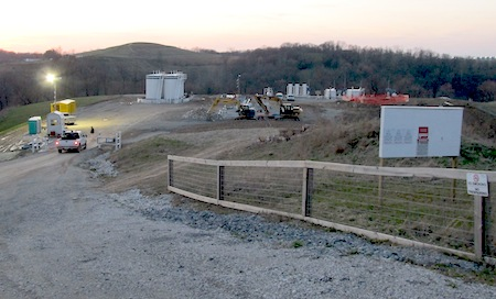 natural gas-pad-west-virginia