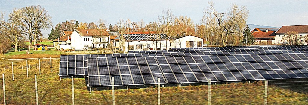 Germany's solar sector has more generating capacity than the rest of the world's combined. Photo/Keith Schneider