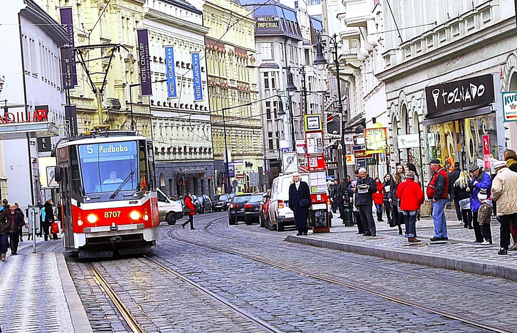 Prague's excellent streetcar system transports 325 million passengers annually. Photo/Keith Schneider