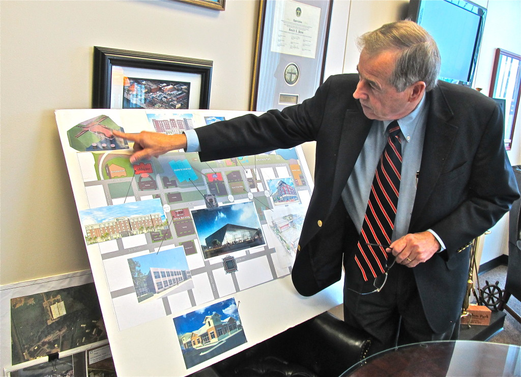 Mayor Ron Payne led Owensboro's daring downtown redevelopment project. Photo/Keith Schneider