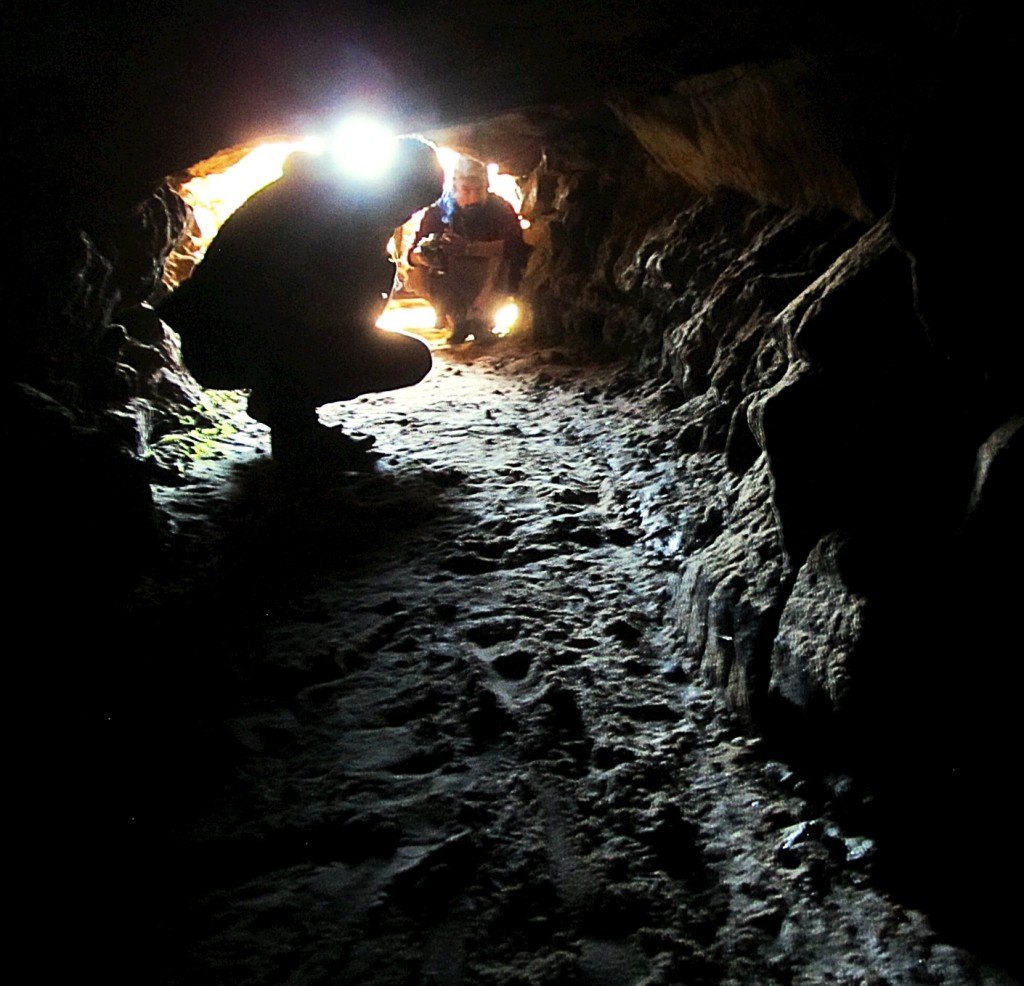 Inside a rathole coal mine south of Shillong, India. Photo/Keith Schneider