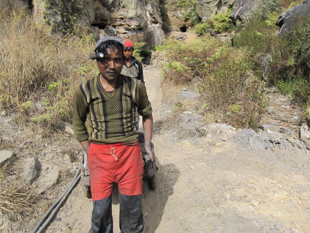 The dangerous and polluting mines of Meghalaya, India were the focus of Choke Point: India reports in 2014. Photo/Keith Schneider
