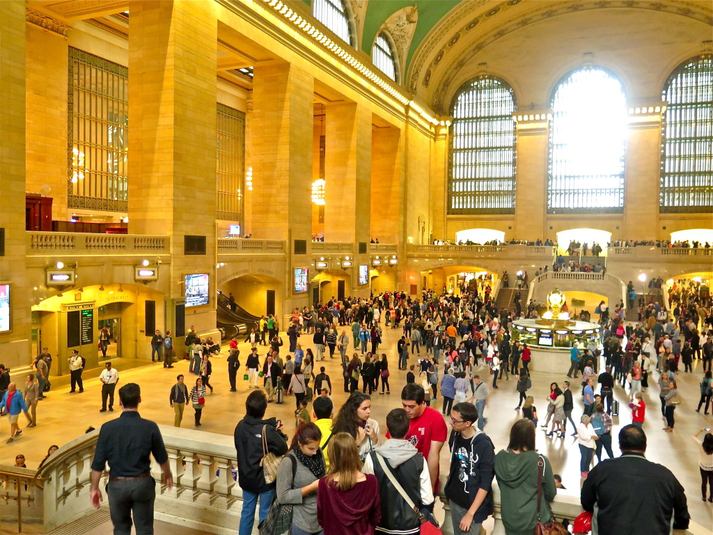 Grand Central Station on 42nd Street is a hive of energy every day using a transport technology that Republicans don't support. Photo/Keith Schneider