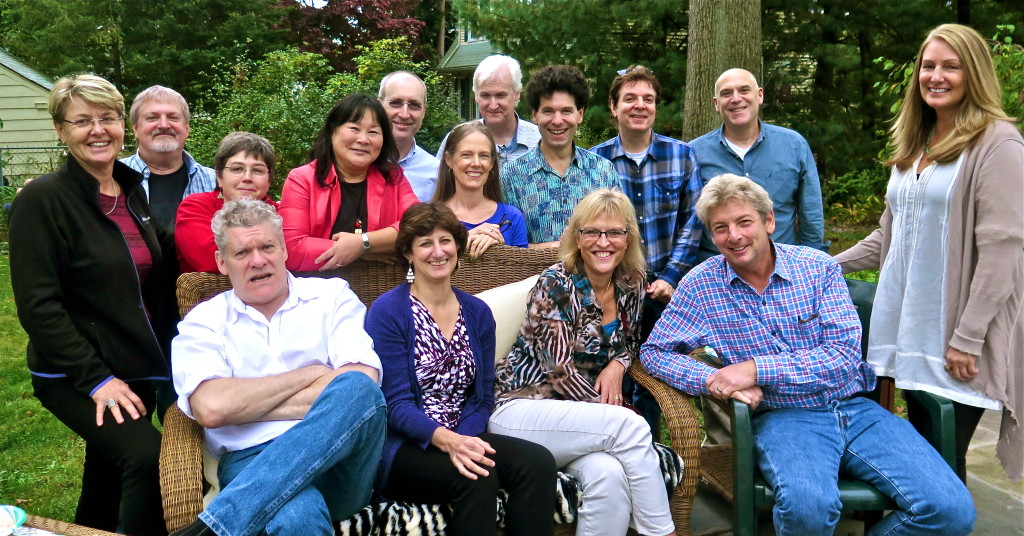 Patsi Takahashi and Annie Wilson organized a Saturday afternoon lunch. Very cool. Photo/Keith Schneider