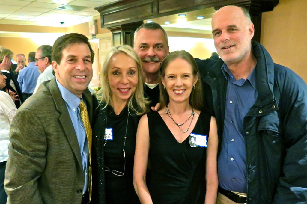 Keith Schneider, Gail Bruesewitz, Bobby Fargo, Geoff Keenan. Photo/Keith Schneider
