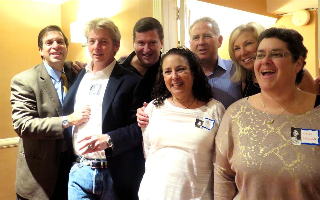 Beverly and Albemarle Road crew (l to r) Keith Schneider, Jeff Zucker, Eddie Weil, Michael Shames, Lisa Schwarzenberg, Mindy Litt, Laura Schoenfeld. Photo/Keith Schneider