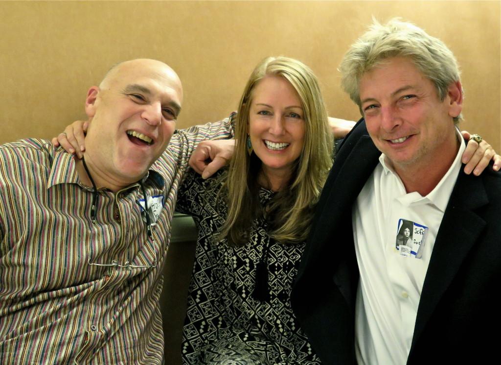 Andy Feinman, Amy Stichman, Jeff Zucker. Photo/Keith Schneider