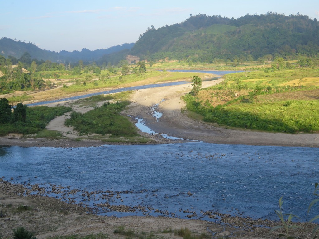 The Ranganadi River in Arunachal Pradesh drains the Himalaya in Northeast India. Photo/Keith Schneider