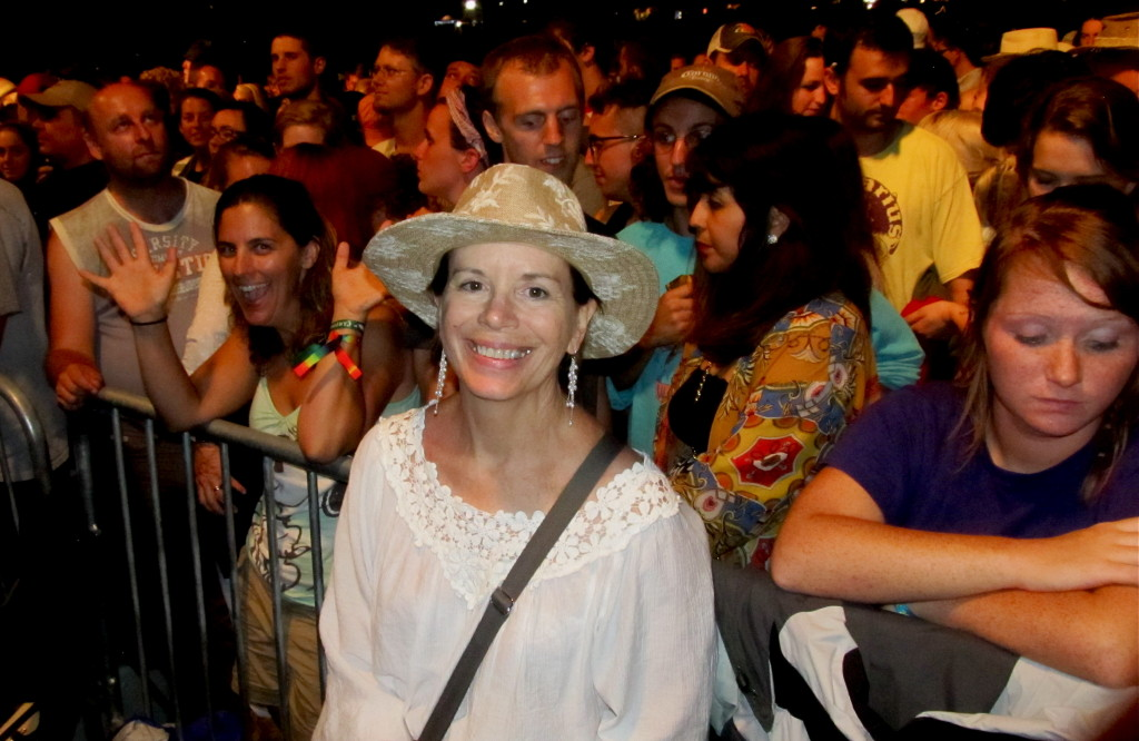 Big crowds attended ROMP over the last four years to hear the great bluegrass music that founder and festival director Gabrielle Gray attracted. Photo/Keith Schneider