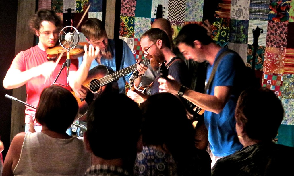After GE closed its factories, and put 6,000 people out of work in the late 20th century, Owensboro was forced to develop new economic ideas. The city is now the center of bluegrass music in the world. The 23 String Band performs at the International Bluegrass Music Museum in September 2014. Photo\Keith Schneider