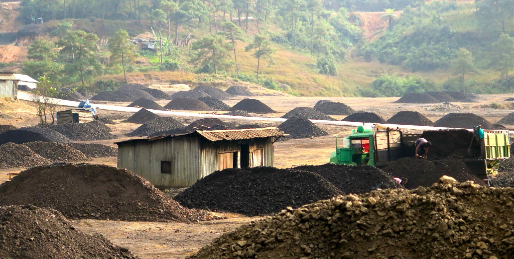 Coal mining in Meghalaya, a northeast India state, is so damaging to water that a high court shut down the industry nearly a year ago. Photo/Keith Schneider