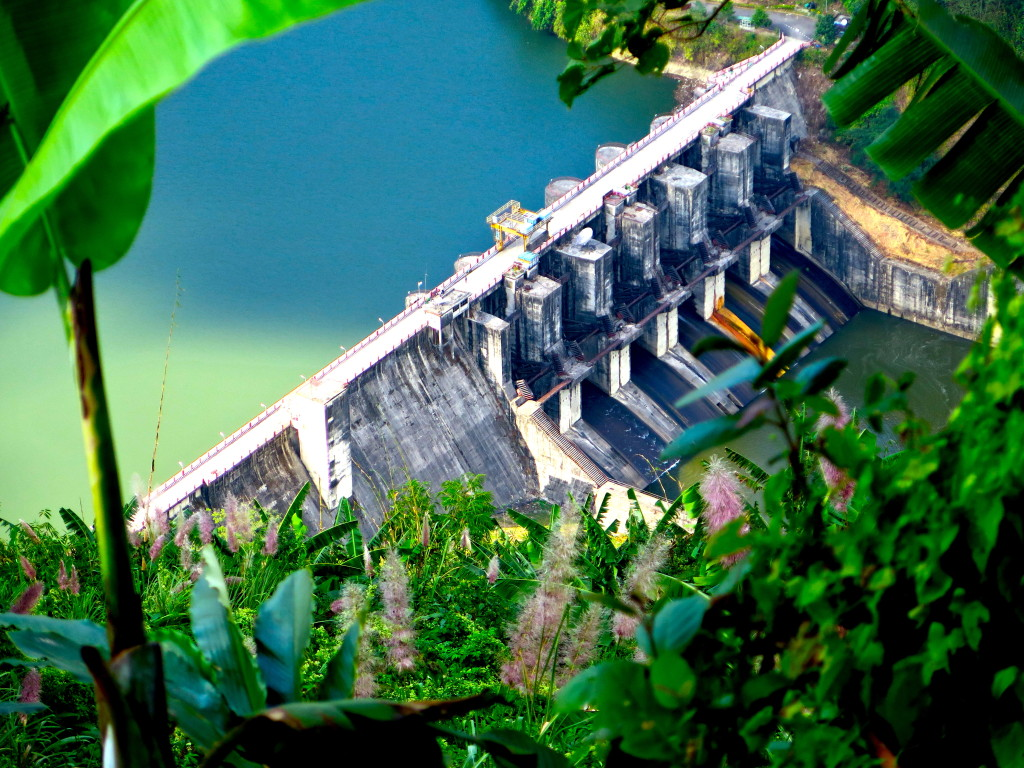 The 405-megawatt Ranganadi hydropwer station opened in 2001 and is the first and only big power dam in Arunachal Pradesh. It's been blamed for a number of floods downstream since it opened. Photo/Keith Schneider
