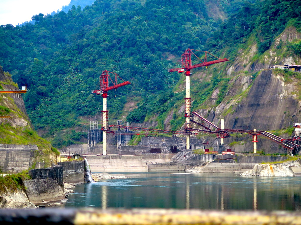 Construction of the Lower Subansiri dam stopped in 2011 and hasn't restarted. Photo/Keith Schneider