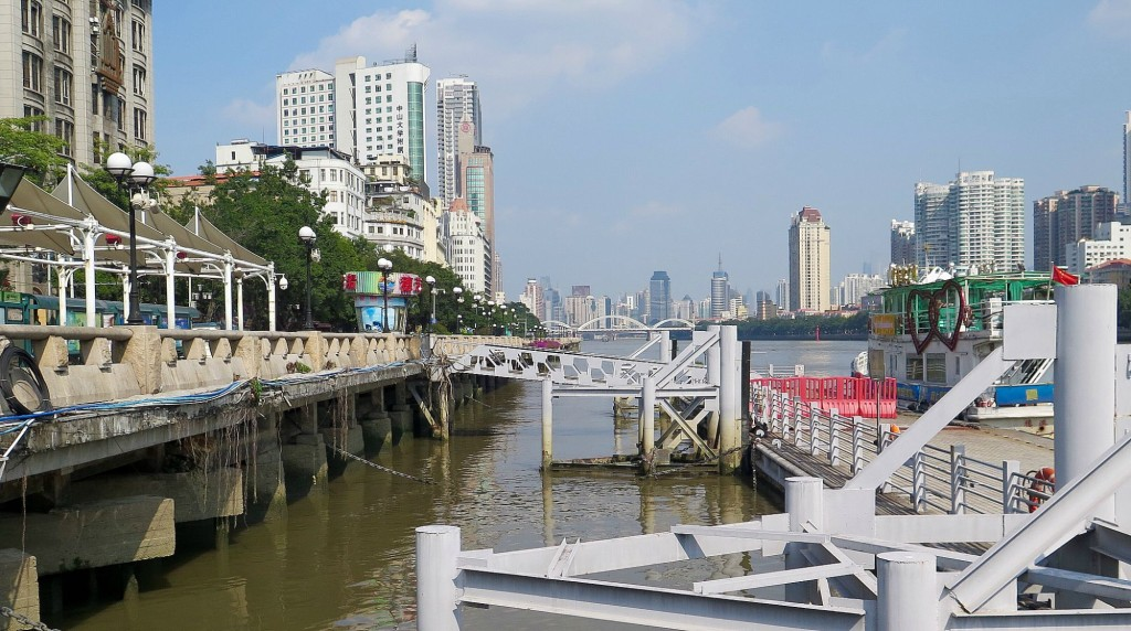 "Guangzhou, the capital of Guangdong Province, calls itself the ""City of Water."" The Pearl River is the city center, spiritually and economically.  Photo: Keith Schneider"