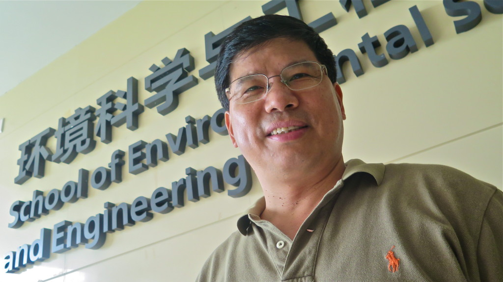 "Chunmiao Zheng, dean of environmental science and engineering at the South University of Science and Technology of China. ""In China more people realize [CCS] is not going to make a big difference because we are producing so much C02. It's costly to capture and it's a small part of total emissions. We have to think of some other way."""
