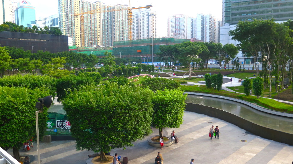 Shenzhen's public parks are masterpieces of urban design in a gigantic city of 16 million that held just 40,000 residents 30 years ago. Photo/Keith Schneider