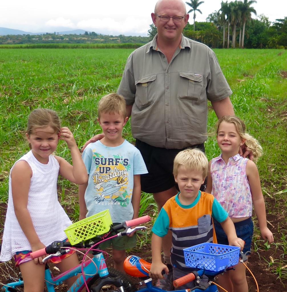 Cobus Horn and his family in Pongola. Photo/Keith Schneider