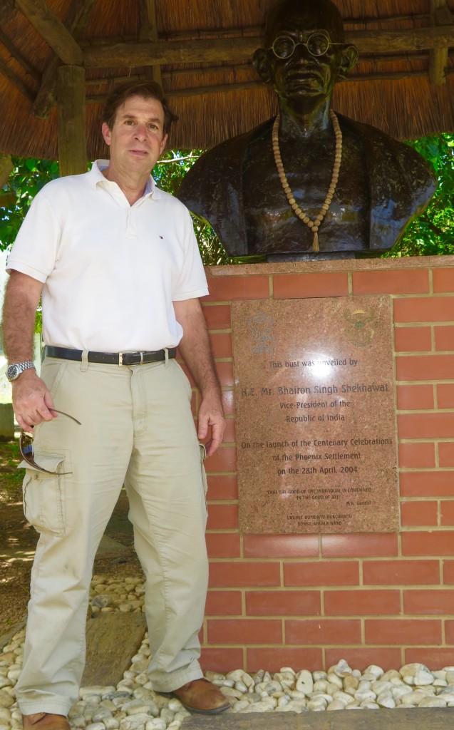 Mahatma Gandhi spent 21 years in Durban - 1893 to 1914 - refining his non-violent activist techniques. Photo/Gabrielle Gray