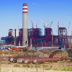 The 4,800-megawatt Kusile power station under construction in South Africa. Photo/Keith Schneider