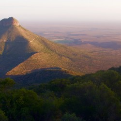 Valley of Desolation is an example of the magnificent and harsh Karoo geography. Photo/Keith Schneider