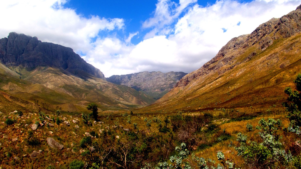 Cape Town's water supply starts in this magnificent valley near Stellenbosch, north of South Africa's largest city. Photo/Keith Schneider