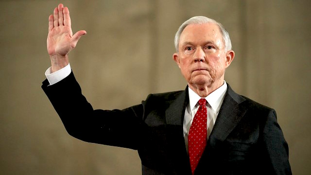 Attorney General Jeff Sessions lied to Congress about his meetings with a Russian diplomat. President Trump spent Saturday morning trying to divert attention to that lapse.