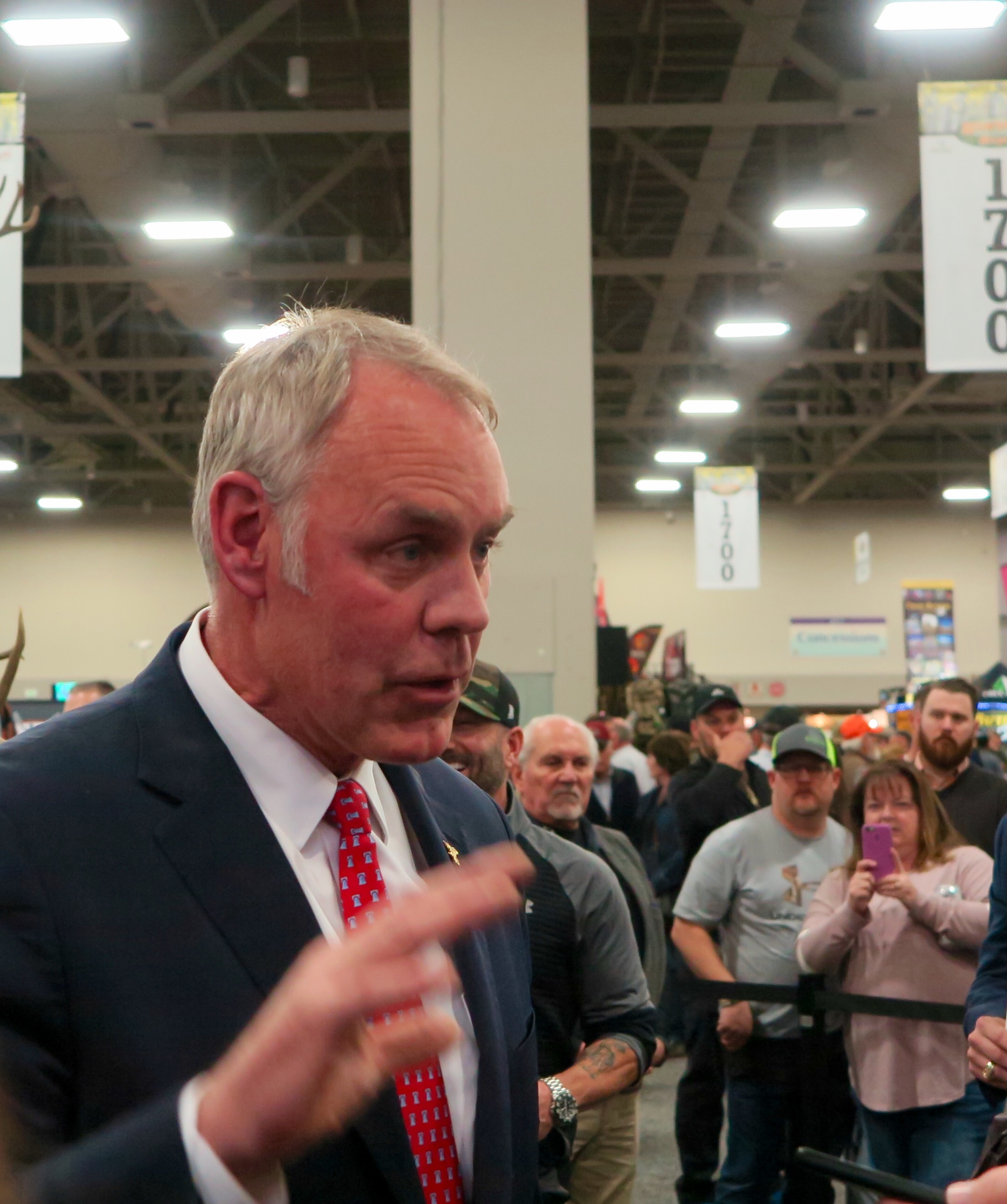 Interior Secretary Ryan Zinke's Tough Second Act